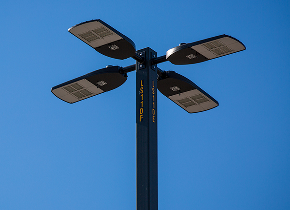 LightMart Steel Pole with Direct Mount LEDs